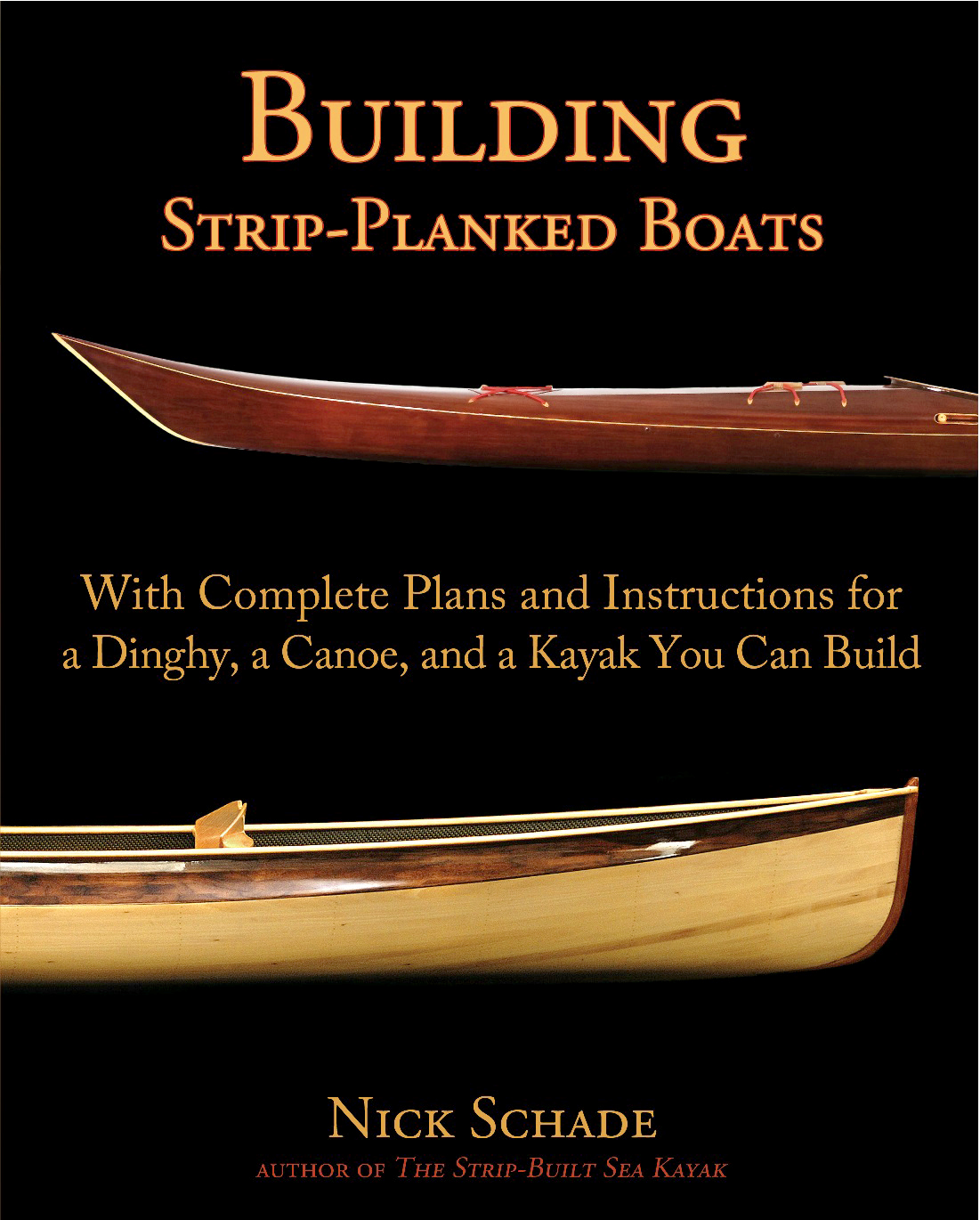 Building Strip Planked Boats Front Cover